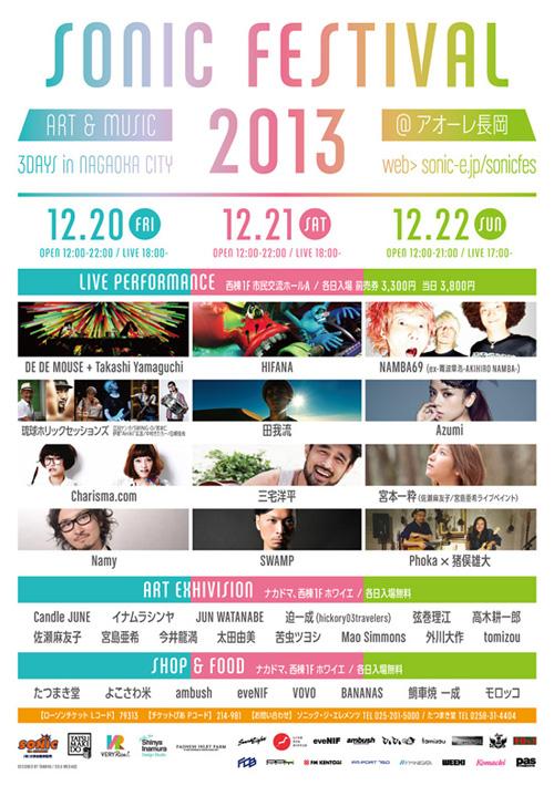 『SONIC FESTIVAL 2013』