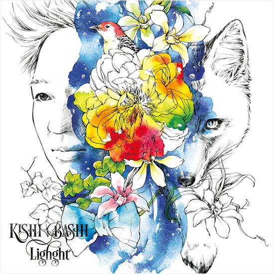 Kishi Bashi 『Lighght』CDジャケットイラスト