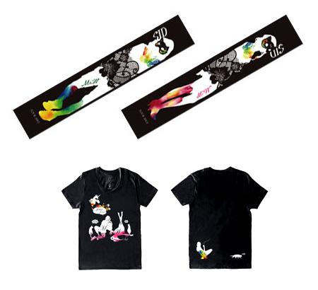 """ライブ壁紙 『SID TOUR 2012""""M&W"""" LIVEグッズ』"""